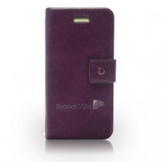 Husa iPhone 4/4S Fenice Diario Purple Haze