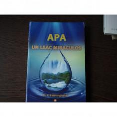 APA, UN LEAC MIRACULOS - F.BATMANGHELIDJ
