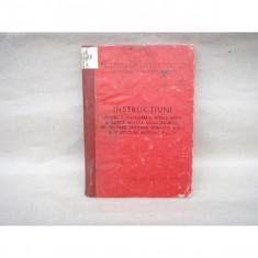 Instructiuni pentru cunoasterea, intretinerea si intrebuintarea aruncatorului, 1970