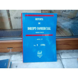 REVISTA DE DREPT COMERCIAL SERIE NOUA ANUL VI NR.1 1996 , Cursuri