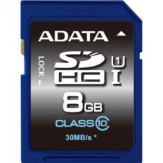 SECURE DIGITAL CARD SDHC 8GB (Class 10) ADATA 'ASDH8GUICL10-R' - Secure digital (SD) card