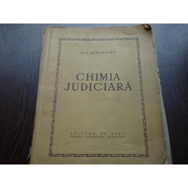 CHIMIA JUDICIARA - A.V.STEPANOV foto mare