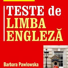 Teste de limba engleza, Editura Teora