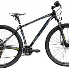 Bicicleta DHS Terrana 2925 (2016) Culoare Gri/Alb/Albastru 457mmPB Cod:21629254579 - Mountain Bike