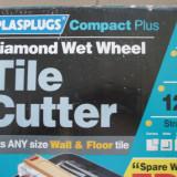 Aparat electric pentru taiat gresie si faianta cu disc diamantat - Masina de taiat