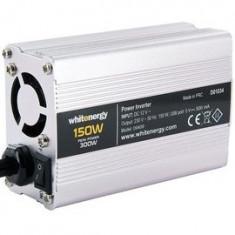 Whitenergy invertor DC/AC de la 12V DC la 230V AC 150W, USB, mini - Invertor Auto
