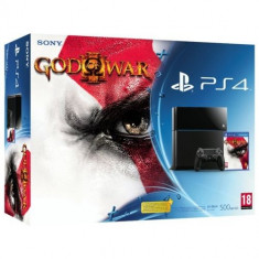 Consola PlayStation 4 Sony + joc God of War 3 Remastered