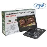 Resigilat : DVD Player Portabil 9.5 Inch PNI NS969 cu Tuner TV, Radio, Slot USB,