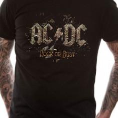 ACDC Rock Or Bust (tricou) - Tricou barbati, Marime: S, M, L, XL, Maneca scurta