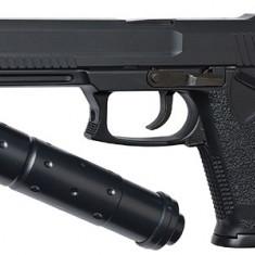 ASG MK23 SOCOM arma airsoft pusca pistol aer comprimat sniper shotgun