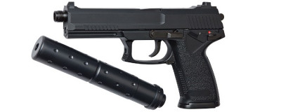 ASG MK23 SOCOM arma airsoft pusca pistol aer comprimat sniper shotgun foto
