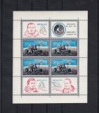 ROMANIA 1971  LP 772 a   APOLLO  15  BLOC DANTELAT  MNH, Nestampilat