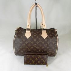 Set dama geanta si portofel LV Louis Vuitton+CADOU - Geanta Dama, Culoare: Din imagine, Marime: Mare
