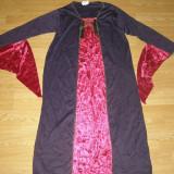 Costum carnaval serbare vrajitoare cadana contesa pentru copii de 11-12 ani - Costum Halloween, Marime: Masura unica, Culoare: Din imagine
