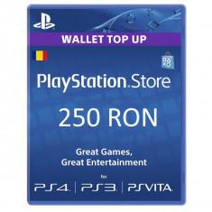 PlayStation Network Card 250 lei