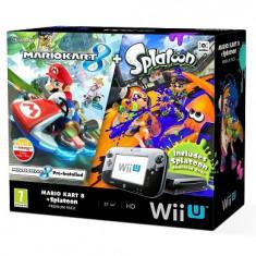 Consola Nintendo Wii U Premium + Mario Kart 8 + Splatoon