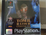 vand jocuri ps1 colectie, TOMB RAIDER CHRONICLES ,PLAYSTATION