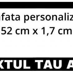Suport numar inmatriculare PERSONALIZAT (set 2 buc) - Suport numar Auto