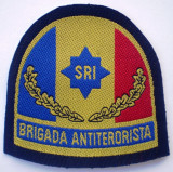 5.482 ROMANIA ECUSON BRIGADA ANTITERORISTA SRI 78/78mm