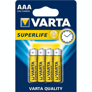 BATERIE VARTA R3 SUPERLIFE 4BUC/BLISTER