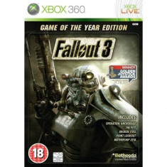 Fallout 3 Game Of The Year Edition XBOX360 - Jocuri Xbox 360, Role playing, 18+