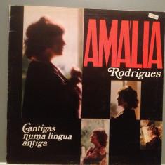 AMALIA RODRIGUES - CANTIGAS NUMA LINGUA (1977/CBS REC/UK) - Vinil/Impecabil (NM)
