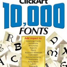 Click Art 10.000 Fonts - Solutii business