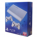 Consola PlayStation 3 Ultra Slim 500 GB White + 2 controllere