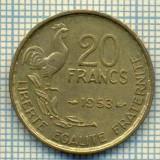 9128 MONEDA- FRANTA - 20 FRANCS -anul 1953 - starea ce se vede, Europa