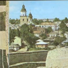 CP Romania necirculata - Suceava - Orasul vazut de la Cetate, Fotografie