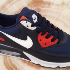 Adidasi Nike Air Max BARBATI BAR - Adidasi barbati, Marime: 43, Culoare: Indigo, Textil