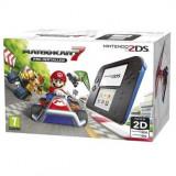 Consola Nintendo 2DS Special Edition black / blue + joc Mario Kart 7