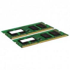 Kit memorie laptop 4GB DDR2 800MHz SODIMM, 2x2GB, factura+garantie! - Memorie RAM laptop, Dual channel