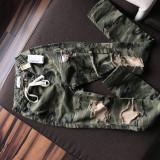Blugi army, Vibrant Collection (USA), marimea S, model deosebit - Blugi dama Vila, Marime: 26, Culoare: Khaki