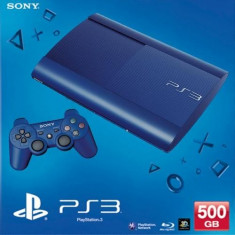 Consola PlayStation 3 Ultra Slim 500 GB Blue