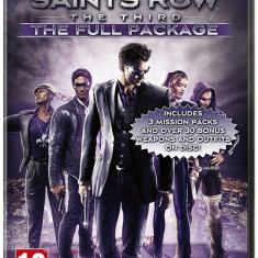 Saints Row The Third The Full Package PC - Jocuri PC Thq, Role playing, 18+, Single player