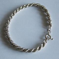 Bratara de argint -model impletit -1266 - Bratara argint