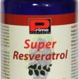 Super Resveratrol, 250 mg/caps,60cap,antioxidant,antiimbatranire,antiinflamator