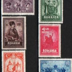 1929 Romania, LP 82-10 ani dela unirea Transilvaniei-MNH - Timbre Romania, Nestampilat