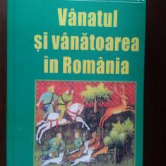 VANATUL SI VANATOAREA IN ROMANIA, COTTA CARTE ORIGINALA NOUA COPERTI CARTONATE . - Carte Biologie