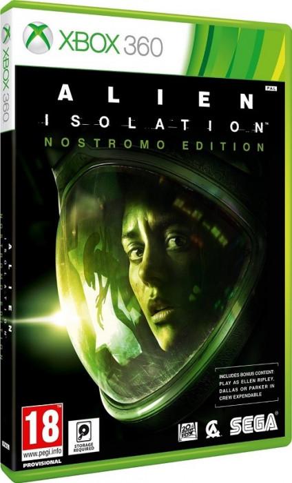 Alien Isolation Nostromo Edition XB360 foto mare
