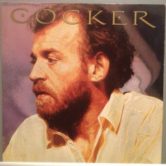 JOE COCKER - COCKER (1986/CAPITOL REC/HOLLAND) - Vinil/Vinyl/Impecabil (NM) - Muzica Rock capitol records