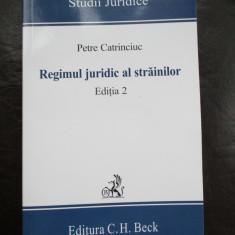 Regimul juridic al strainilor - Carte Criminologie