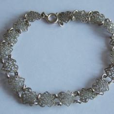 Bratara de argint cu inimioare -1214 - Bratara argint