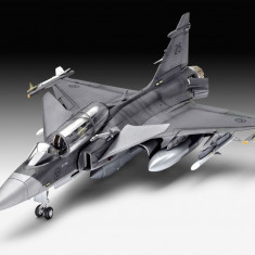 Model Set - Avion Saab JAS-39D Gripen cu doua locuri - RV63956 - Macheta Aeromodel Revell
