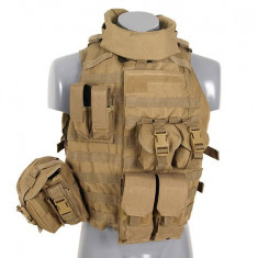 Vesta Interceptor Body Armour Coyote - Echipament Airsoft