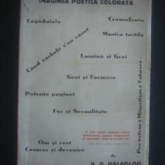 V. G. PALEOLOG - VISIUNEA SI AUDITIA COLORATA SINESTESICA LA A. MACEDONSKI  1944