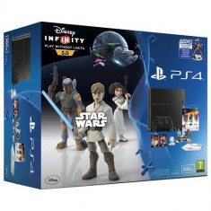 Consola PlayStation 4 Sony + Disney Infinity 3.0 Star Wars Starter Pack