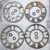 Distantier 5mm aluminiu evazare, largire roti/jante aliaj / micsorare et