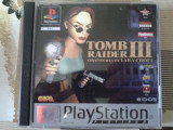 Vand jocuri ps1 colectie, TOMB RAIDER III THE  ADVENTURES OF LARA CROFT, Single player, Actiune, 12+